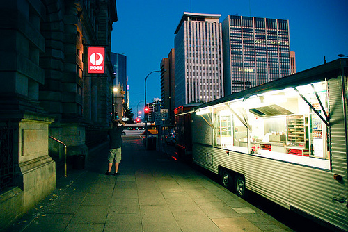 A pie cart in Adelaide, Australia.  (Photo Credit:  Owen.James on Flickr)